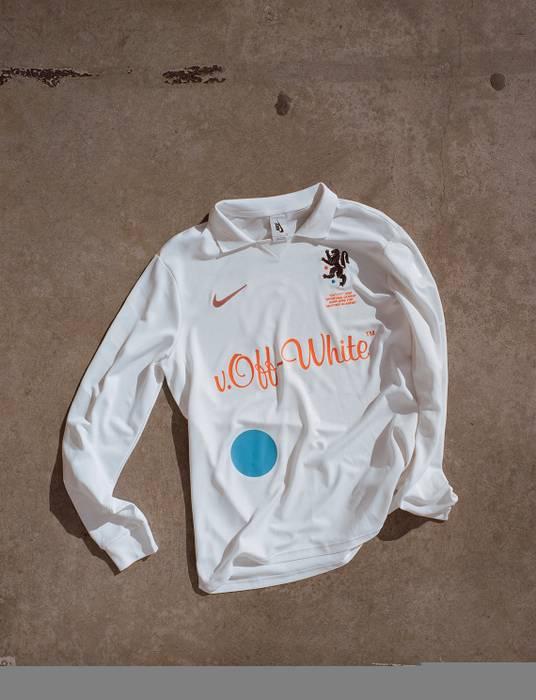 Nike Off White x Nike Lab White Jersey Mon Amour Size m - Long ... dd31b42c3