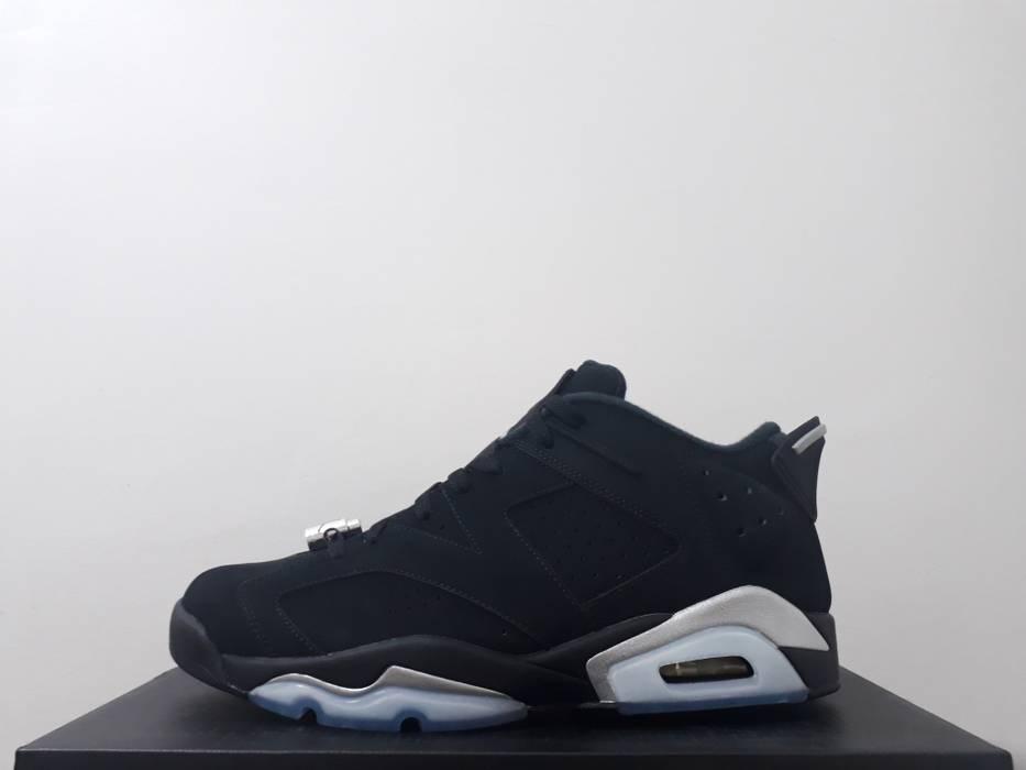 Nike nike air jordan 6 low chrome black (304401-003) US10.5 Size ... 6d1dfd643