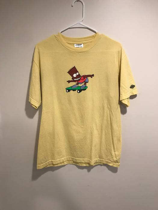 e88170fc29c Utmost Co Round two X Utmost Co Bart Simpson Tee Size m - Short ...