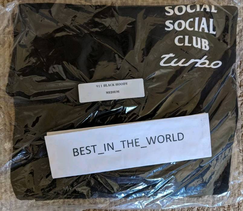 54342efd1e04 Neighborhood Neighborhood x Anti Social Social Club (ASSC) 911 Hoodie ( Medium)