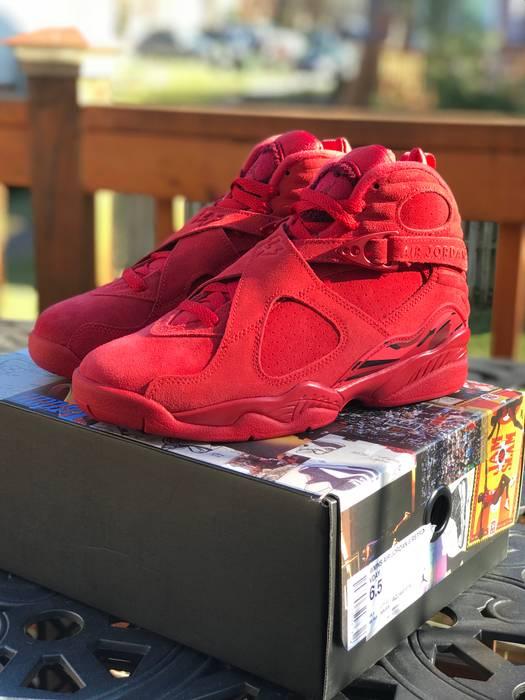 7ae78d55f111 Jordan Brand WMNS AIR JORDAN 8 RETRO VDAY Size 6.5 - Hi-Top Sneakers ...