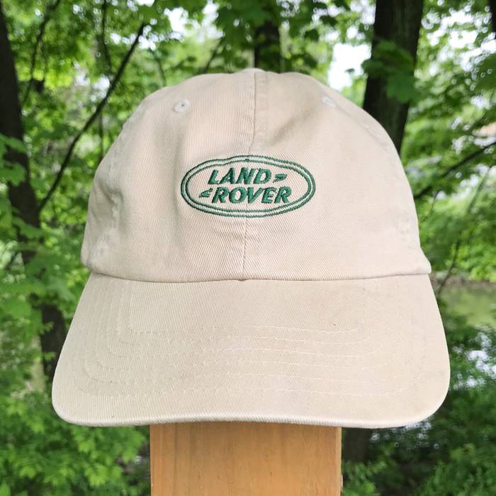 53aa59e2f0d Vintage 00 s Land Rover Gear Embroidered Hat Size one size - Hats ...