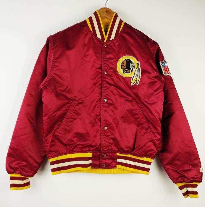 f98de1bd5 Vintage Vintage 90s Starter NFL Washington Redskins Jacket Jacket Satin  Bomber Men s Medium Size US M