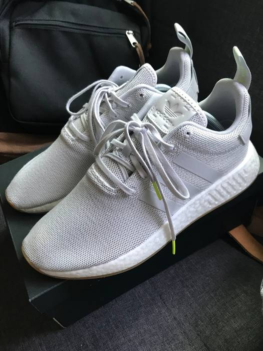 Adidas Adidas NMD R2 Grey Gum Size 10 - Low-Top Sneakers for Sale ... 92f58aaf2e95