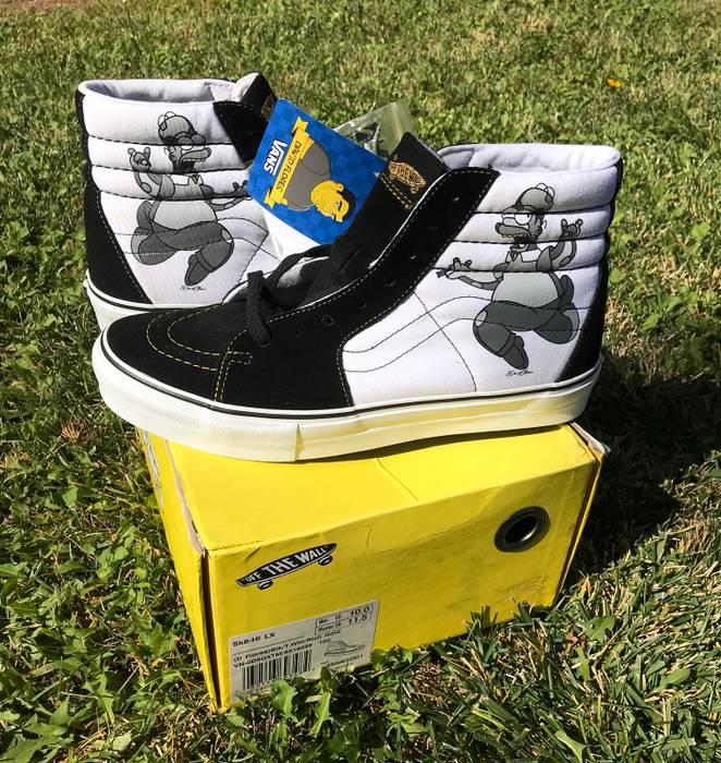 83e0acce54d4 Vans Vans X Simpson s Size 10 - Hi-Top Sneakers for Sale - Grailed