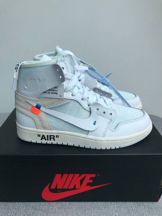 Nike Nike x Off White Air Jordan 1 NRG SIZE womens 7.5 acc347841