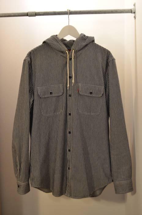 b322bd114fe Supreme Supreme Hooded Denim Shirt AW13 Size l - Shirts (Button Ups ...