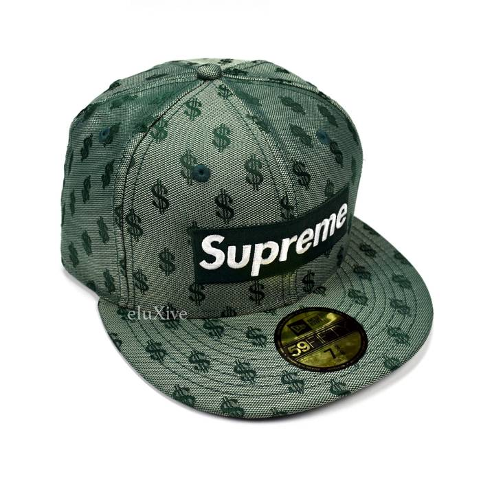 Supreme Green Box Logo Monogram Hat DS Size one size - Hats for Sale ... c6580c0906f