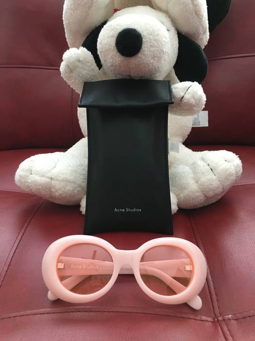 30f7c62cf2 Acne Studios Fluorescent Pink Mustang Sunglasses Size one size ...