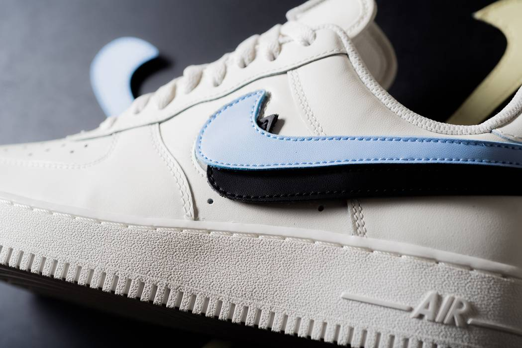 f5d6bc597f9 Nike NIKE AIR FORCE 1 QS SWOOSH PACK Sail AF1 Size 9 - Low-Top ...