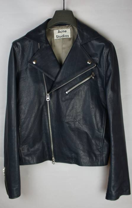 Acne Studios Final price! New! AW14 Calf Gibson leather Size US M   EU 9a1eab1c11b