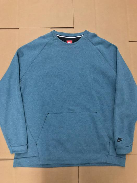 2b957cc06b02 Nike NIKE TECH FLEECE CREWNECK SWEATSHIRT STORM BLUE SZ 3XL Size xxl ...