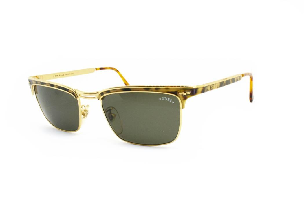 6c83fdae881 Sting 1980s Wayfarer golden   dappled STING mod. 646 CM