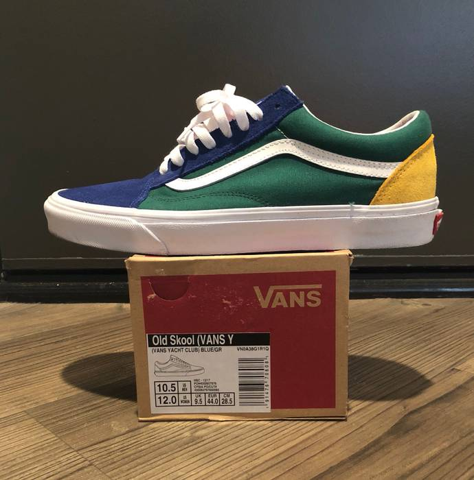 13d3255a540d Vans Vans Old Skool Yacht Club Blue Green Yellow Size 10.5 Size US 10.5   EU