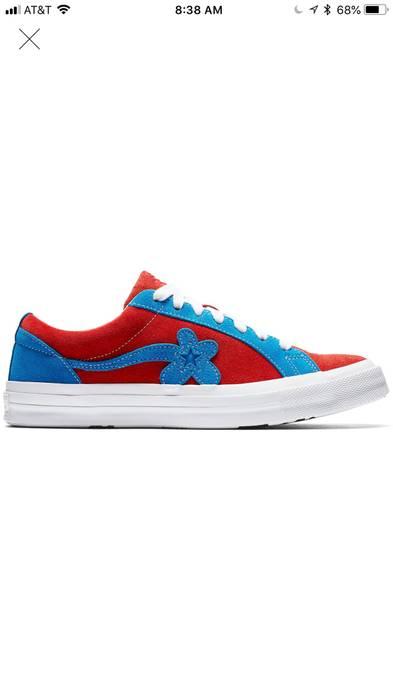 Converse Converse X Golf Le Fleur Red Blue Size 11 Low Top