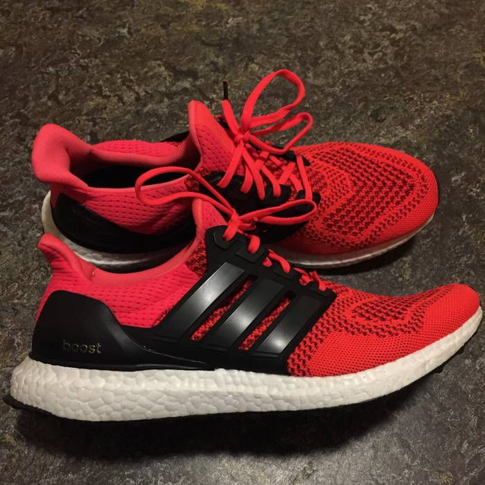 cd0b107237a Adidas Adidas Ultra Boost Infrared Size 10 - for Sale - Grailed
