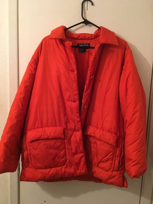 Nautica Puffer Jacket Vintage Size M Light Jackets For Sale Grailed