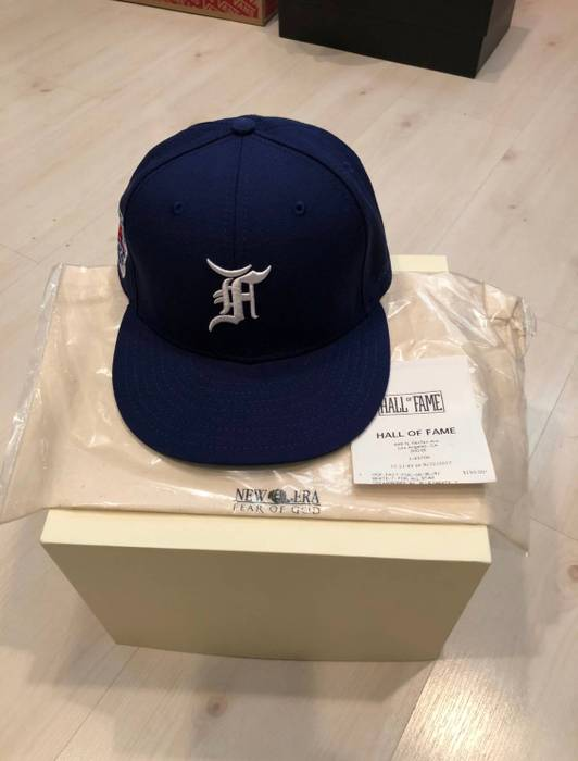 3a7ca138f5d New Era Fear Of God x New Era hat sz 7 Size one size - Hats for Sale ...