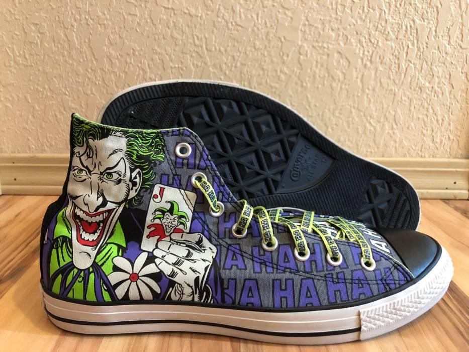 4936db72ca47 Converse Haha Joker Batman Chuck Taylor All Star High Top Size US 12   EU 45