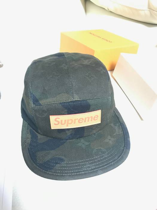 Supreme supreme x louis vuitton camp cap Size one size - Hats for ... 8ceed5d9a2a9