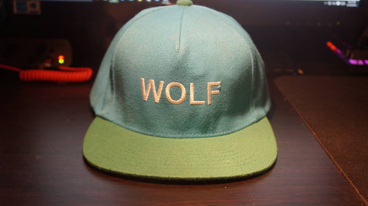 Golf Wang Wolf snapback hat Size one size - Hats for Sale - Grailed 9e6d3d00c588