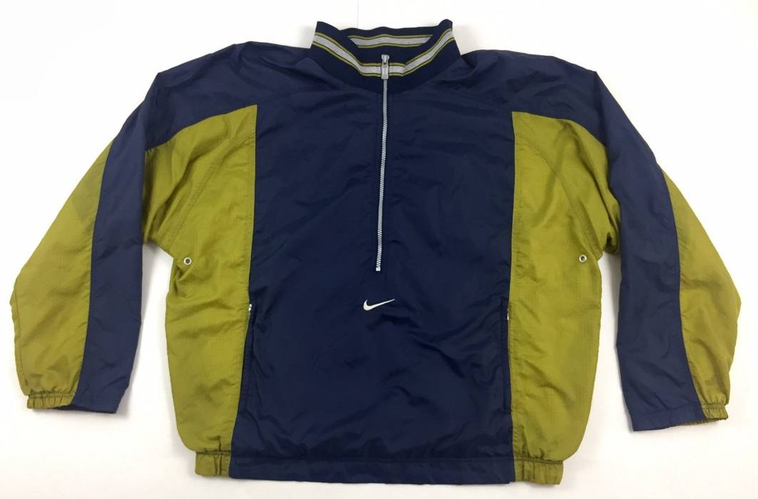83e50202bd Nike Vintage Nike Air Windbreaker Jacket 90s Colorblock Spell Out Big Logo  Swoosh XL Size US