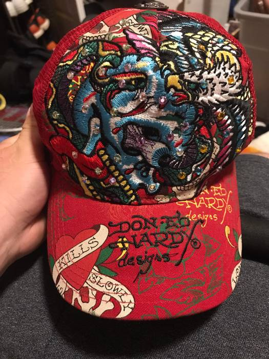 Ed Hardy Unisex Ed Hardy Trucker Hat Size one size - Hats for Sale ... dbbca0e43b3