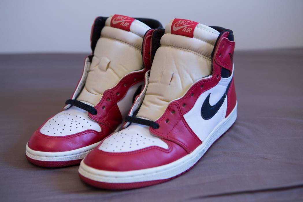 5845890a193 Jordan Brand Nike Air Jordan 1 Chicago 1994 Size 9 - Hi-Top Sneakers ...