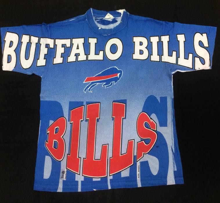 009a95c88 Vintage RARE!!!VINTAGE 90s NFL BUFFALO BILL FULL OVER PRINT 1995 ...