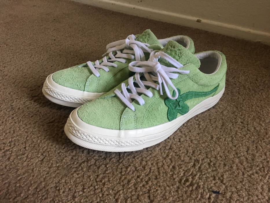 10781791f79e Tyler The Creator. Converse One Star Ox Tyler the Creator Golf Le Fleur  Jade Lime