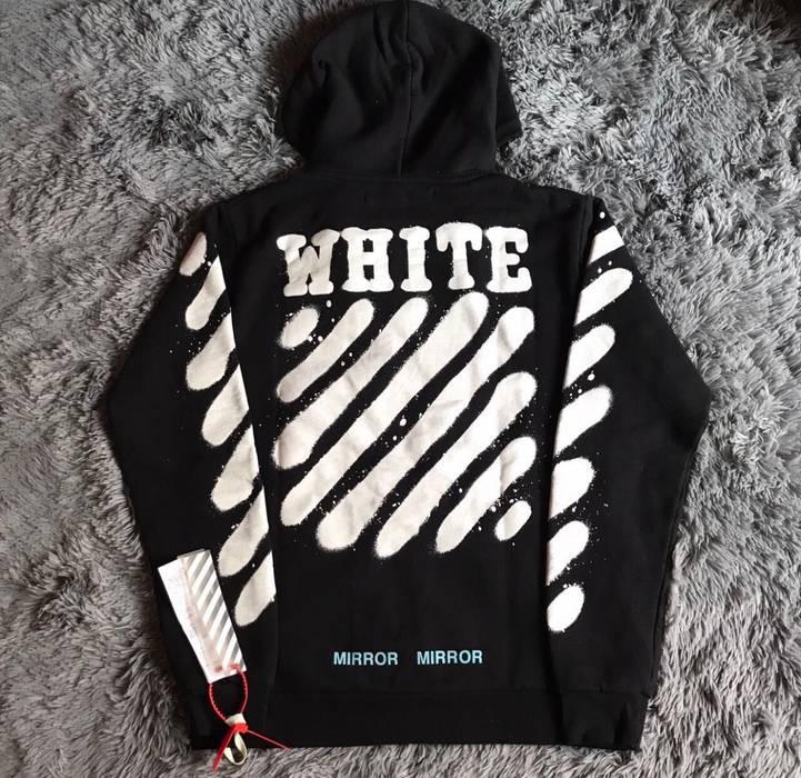 080406e22107 Off-White OOFF WHITE graffiti Hoodie Zip up Size xs - Sweatshirts ...