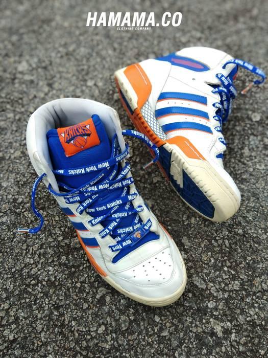 huge selection of 4edf9 16c0e Adidas Adidas Forum Mid X New York Knicks Size US 8.5  EU 41-42