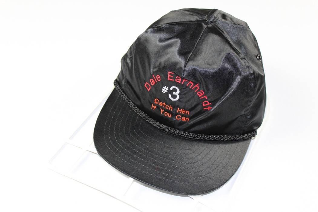 Vintage Vintage 90s NISSIN Dale Earnhardt NASCAR Spell Out Zipper Satin  Adjustable Hat Size ONE SIZE 02d09b5369c