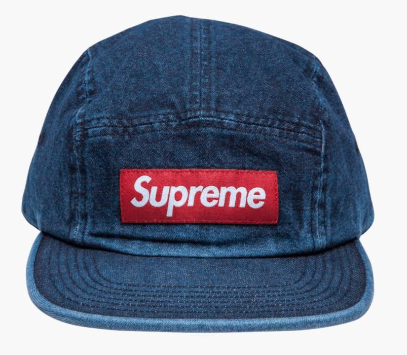 Supreme Denim Camp Cap Size one size - Hats for Sale - Grailed ba182a1260f