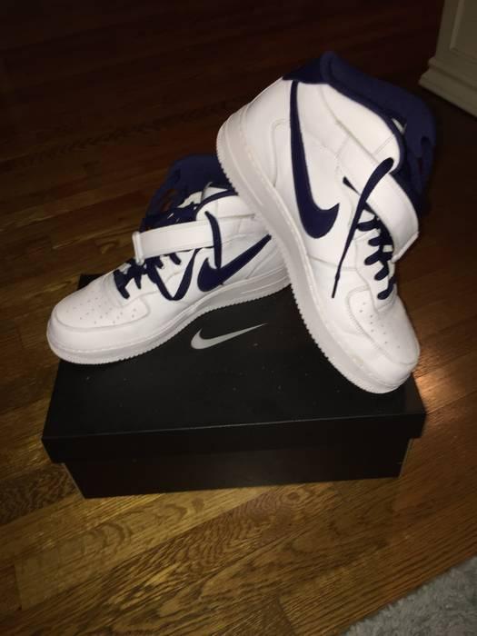 low priced d4e8b e4573 ... Nike Custom Nike Air Force 1 Mid Tops Size US 10 EU ...