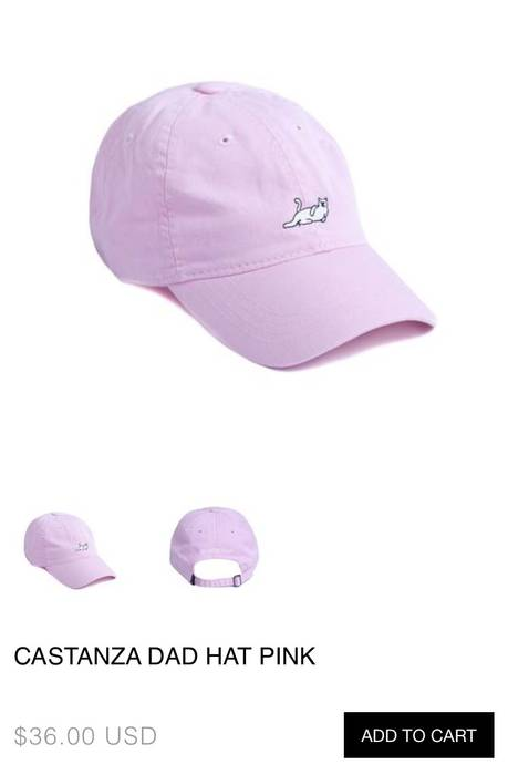 231bbd4dc02 Rip N Dip CASTANZA DAD HAT PINK Size one size - Hats for Sale - Grailed