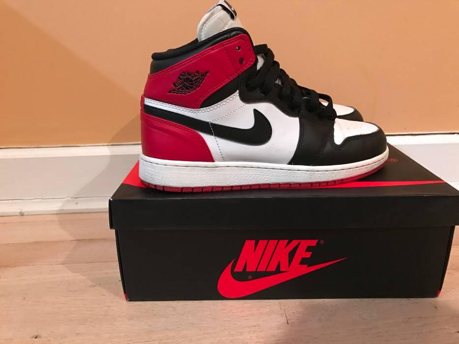 8a0913b0971 Jordan Brand Air Jordan 1 Black Toe 2013 Size 6 - Hi-Top Sneakers ...