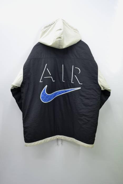 4564cbf3a344 Nike RARE!!! NIKE Jacket Vintage 90 s Nike Air Big Logo Winter Zipper Button