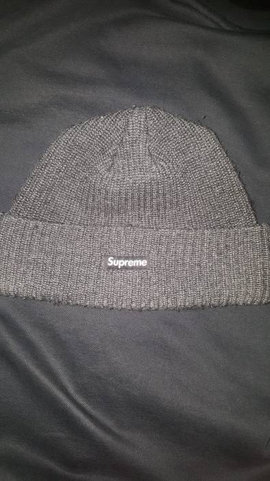 d6c1a898ba4 ... low cost supreme supreme loose gauge beanie heather grey size one size  af464 3afab