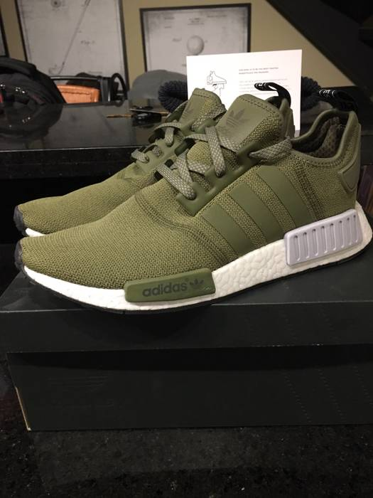 Adidas adidas originals NMD R1 Olive Size 10 - Low-Top Sneakers for ... 253e15b22