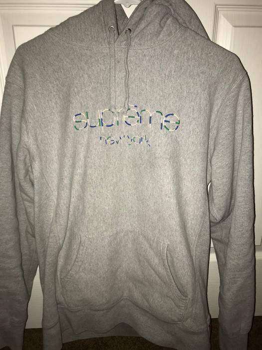 874f5d20d6b7 Supreme Supreme Multi Color Classic Logo Hooded Sweatshirt Size l ...
