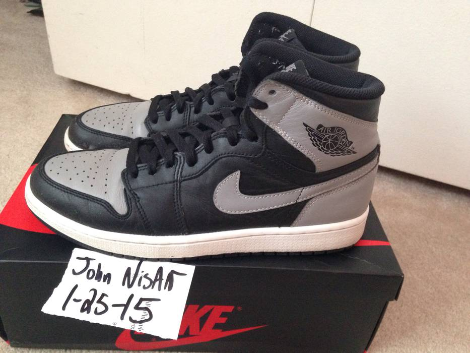Nike Nike Air Jordan 1 OG Shadow Size 8.5 - Hi-Top Sneakers for Sale ... 5903da372