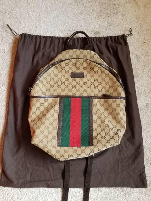 Gucci Gucci Supreme Web Monogram backpack Size one size - Bags ... edd73adf51717
