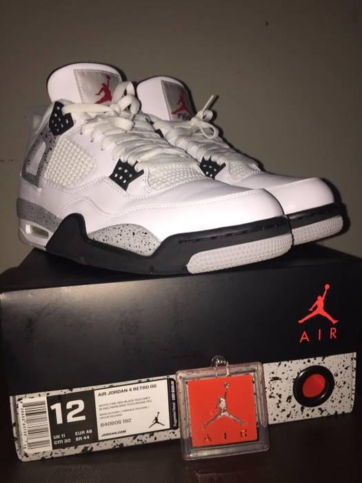 ce1550ec7741 Jordan Brand Jordan Retro 4 IV White Cement 2016 Size 12 Size 12 ...