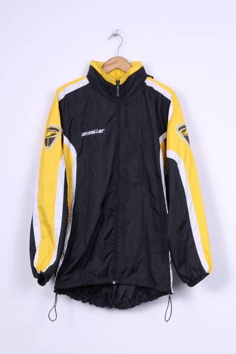 Unbranded. Saller Mens L Jacket Black Nylon Waterproof Hidden Hood  Lightweight Training Top 7478 57f5e9315