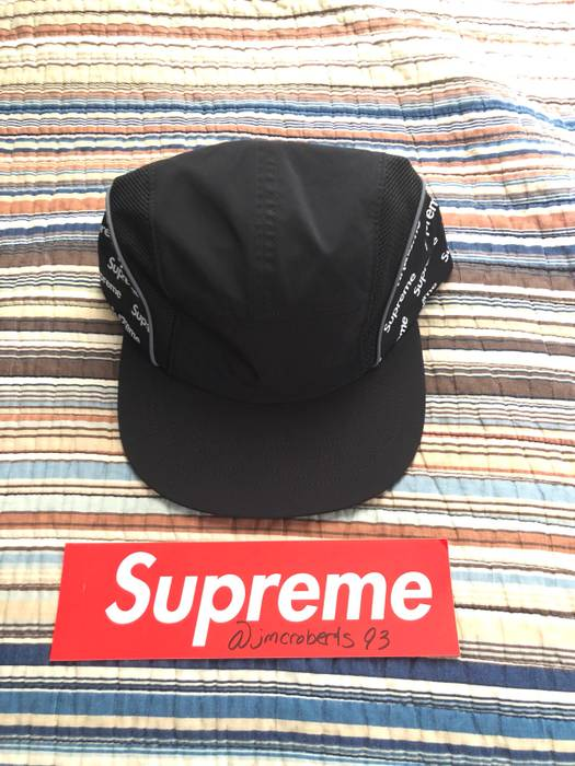 a71f23ba62d Supreme Supreme Diagonal Logo Side Panel Camp Cap Size one size ...