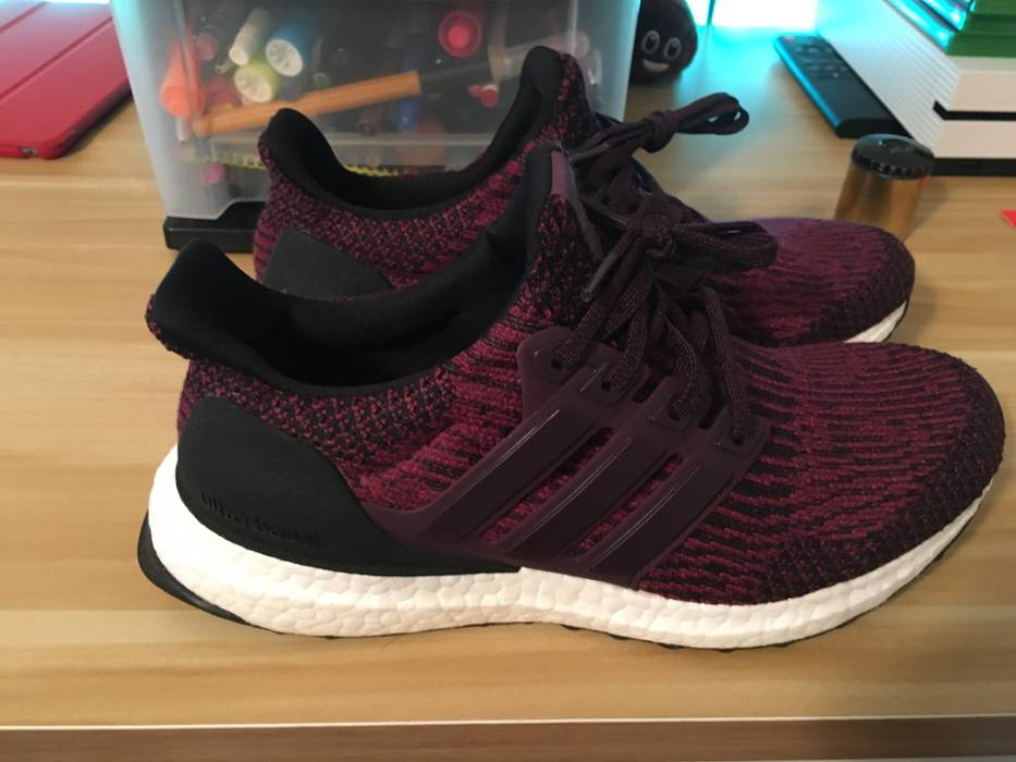 7780346e05a Adidas Ultra Boost Red Night Mystery Ruby Black Size 5.5 - Low-Top ...