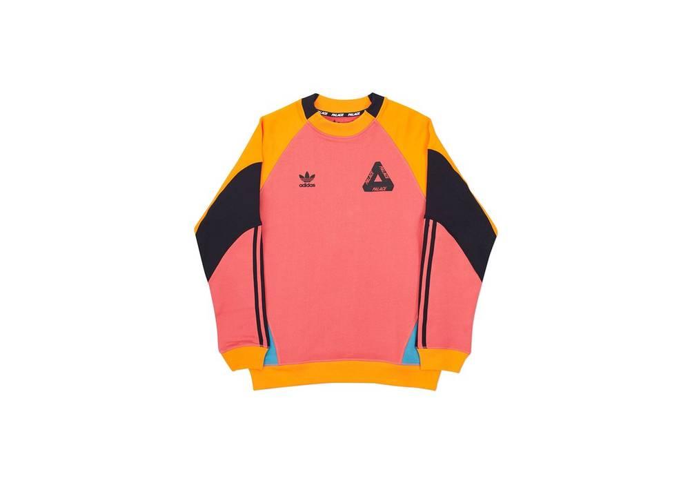 4ba7a8be0d02 Palace X Adidas Sweatshirt Pink - Photos Adidas Collections