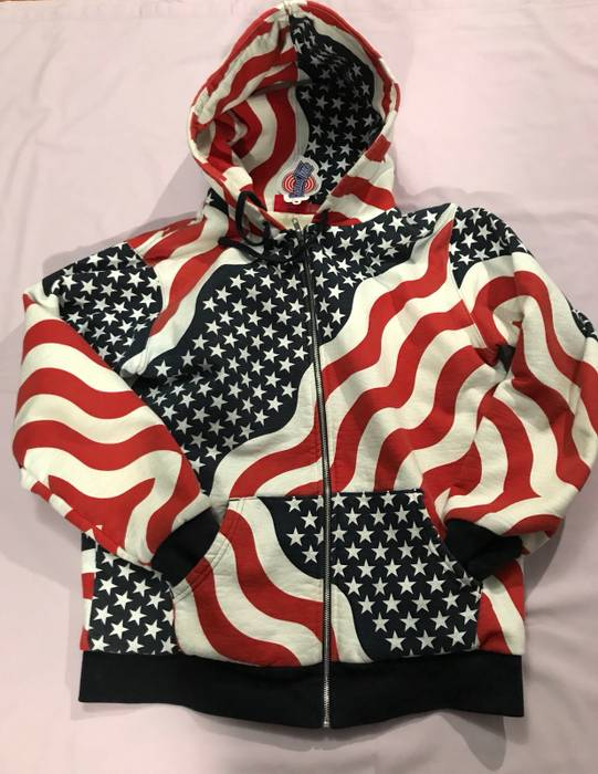 3604e6a938a3 Supreme American Flag Hoodie - Best Picture Of Flag Imagesco.Org