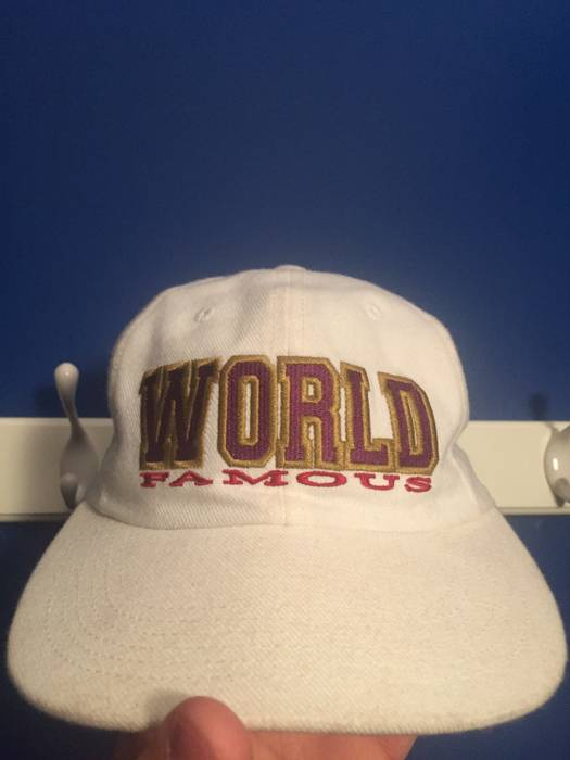 9c8d40287b9 Supreme World Famous Hat Size one size - Hats for Sale - Grailed